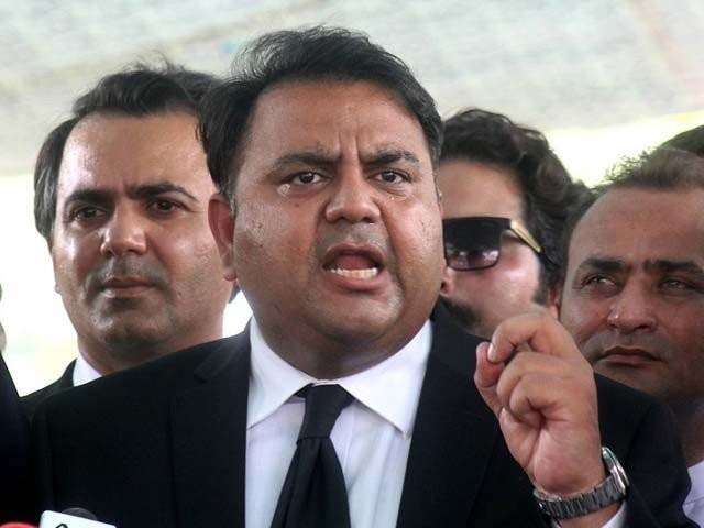 Fawad Chaudhry. PHOTO :FILE