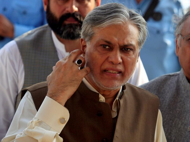 Court orders bailable warrants for Ishaq Dar after today's no-show