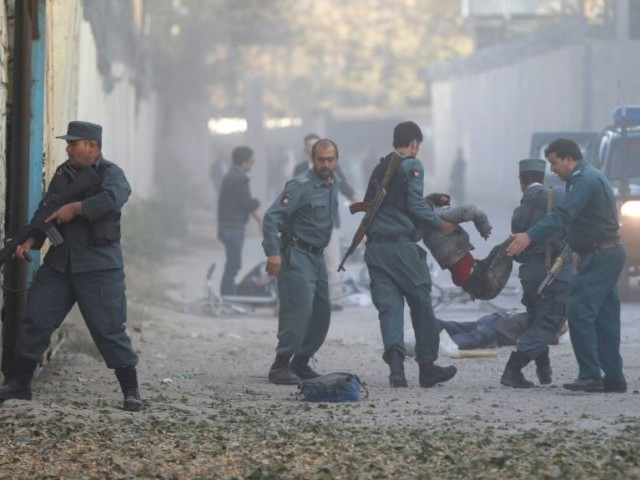 14 dead as blast rocks foreign embassy district in Afghan capital, Kabul