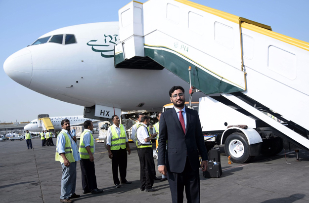 PIA refurbishes its Boeing 777 at airline's engineering base in
