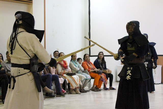 Guests were wowed by the martial arts exhibitions showcased at the event. PHOTO: SIHAM BASIR/EXPRESS