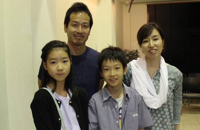 Seguchi, a Japanese national living in the city for the last two years, had come with his family. PHOTO: SIHAM BASIR/EXPRESS