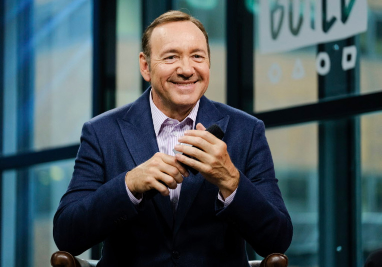 FILE - In this May 24, 2017 file photo, actor Kevin Spacey participates in the BUILD Speaker Series at AOL Studios in New York. Spacey stars in the Netflix original series