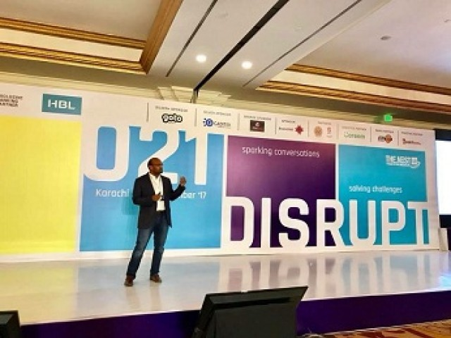 Country's largest entrepreneurship organised by Nest I/O featured talks by well known entrepreneurs. PHOTO COURTESY: 021 DISRUPT