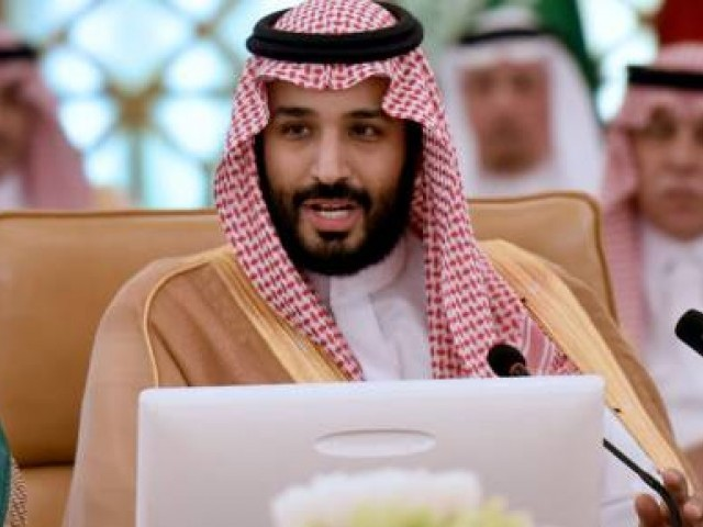 Saudi Crown Prince Mohammed bin Salman. PHOTO: AFP