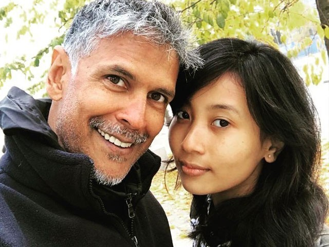 'Bajirao Mastani' actor Milind Soman brutally trolled for dating 18-year-old