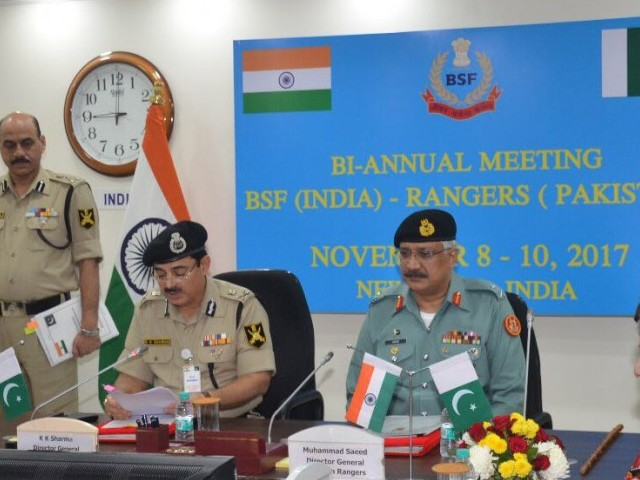 Talks between Pakistan Rangers and India's BSF end in New Delhi