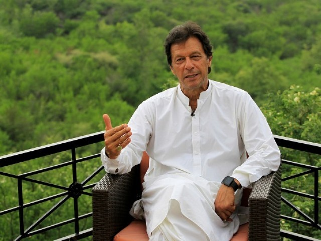 PTI chief Imran Khan. PHOTO: REUTERS