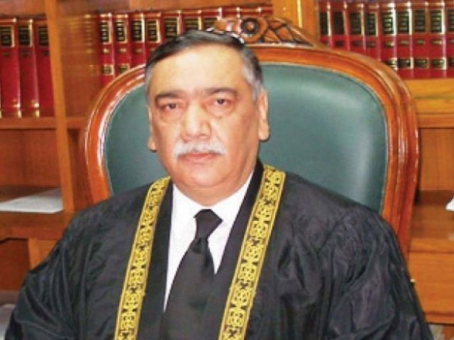 Justice Asif Saeed Khosa refuses to hear Hudaibya case