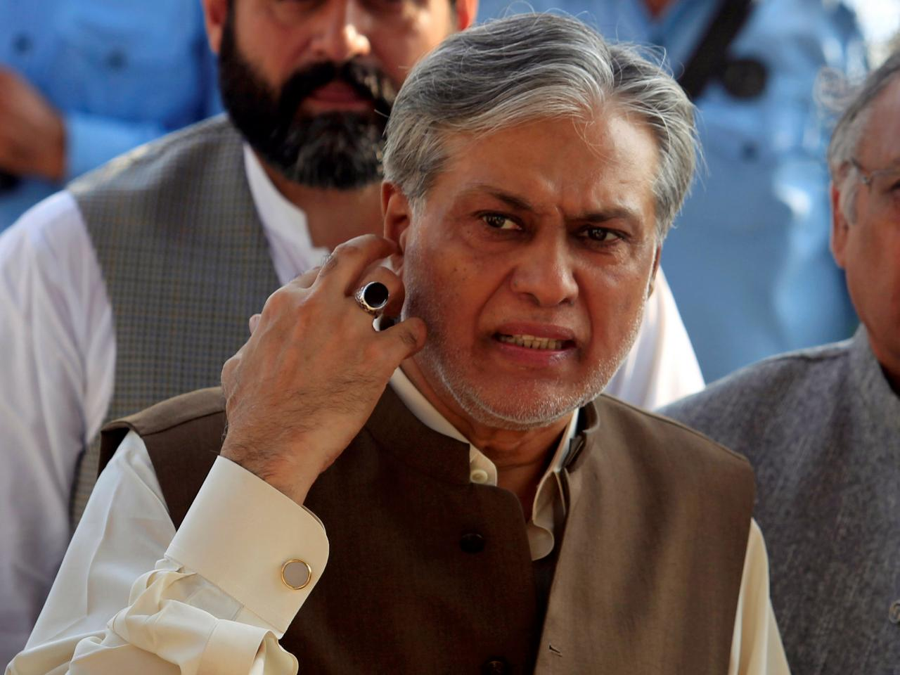 Finance Minister Ishaq Dar