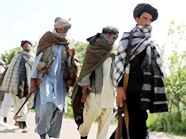 Taliban militants. Photo: AFP