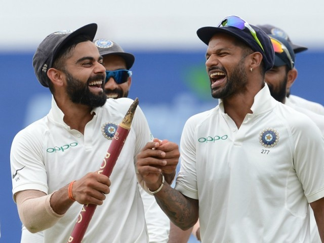 DREAMS CAN COME TRUE: Dinesh Chandimal says India are in the form of their life, but Sri Lanka will try to bag their first-ever victory on the India soil to fulfil their dream. PHOTO: AFP