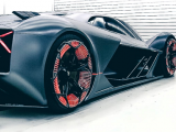 Lamborghini has created the world's first self-healing sports car.  PHOTO: LAMBORGHINI
