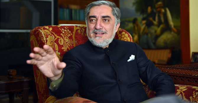 Afghanistan's Chief Executive Abdullah Abdullah . PHOTO:AFP