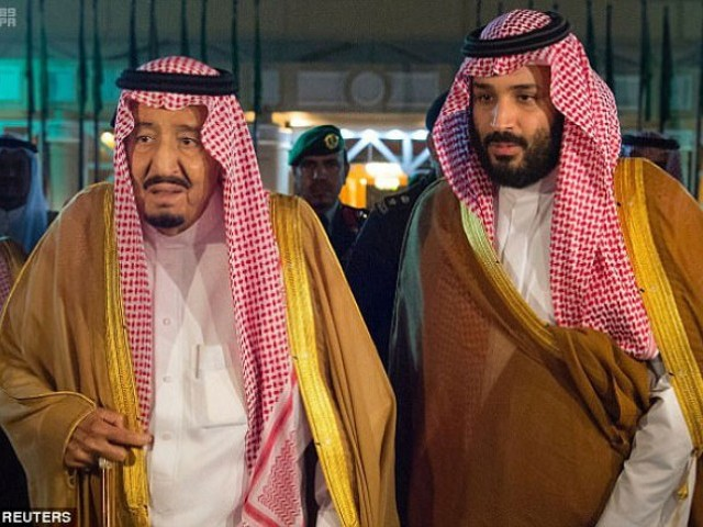 King Salman of Saudi Arabia (left) is planning to step down next week and name his son Prince Mohammed bin Salman (right) as his successor. PHOTO: REUTERS / FILE