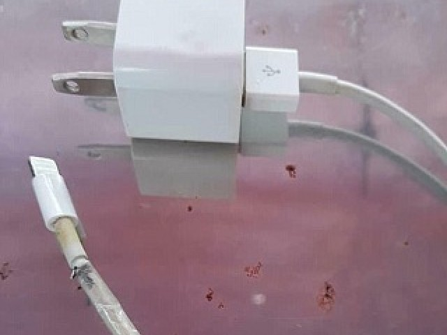 IPhone charger electrocutes girl to death