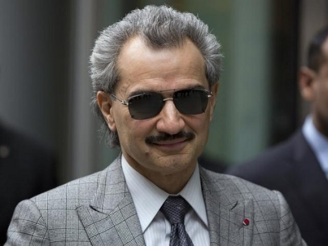 Prince Alwaleed bin Talal PHOTO: REUTERS