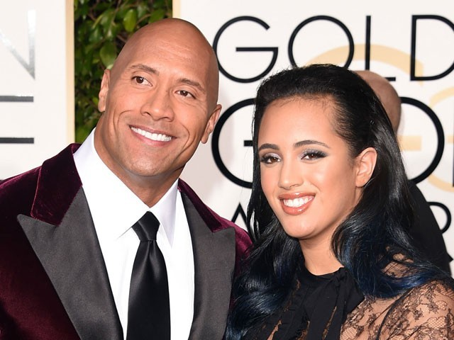 The Rock's Daughter Will Make History at the Golden Globes