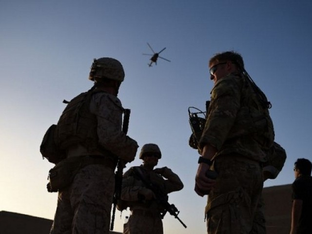 More US Troops Arrive In Afghanistan, Pentagon Says