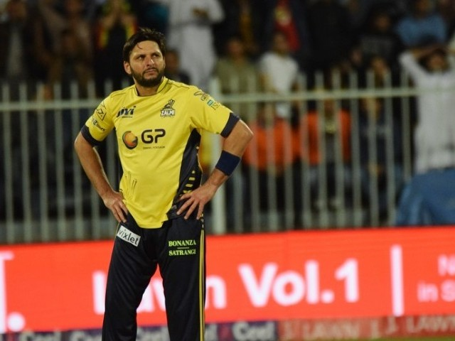 LACK OF FACILITIES: Shahid Afridi believes Pakistan lacks the infrastructure required to transform raw talent into world beaters. PHOTO: AFP