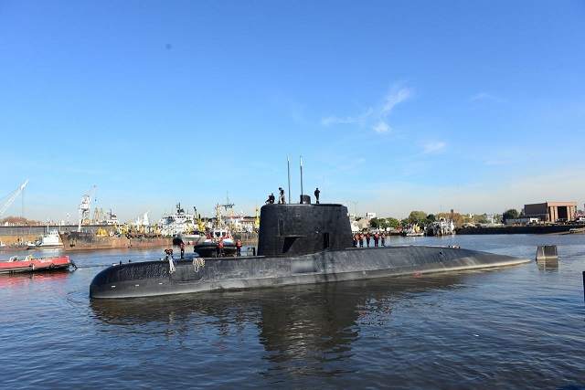 Argentine Navy diesel sub disappears, NASA plane joins in search