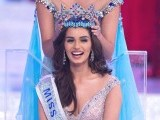 Miss India Manushi Chhilar wins the 67th Miss World contest final in Sanya, on the tropical Chinese island of Hainan on November 18, 2017. PHOTO: AFP