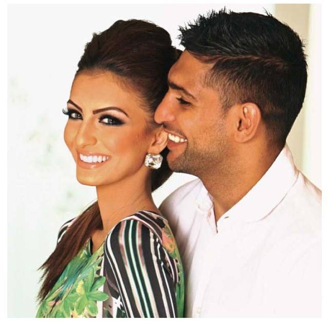 Pregnant Faryal Makhdoom pokes fun at husband Amir Khan
