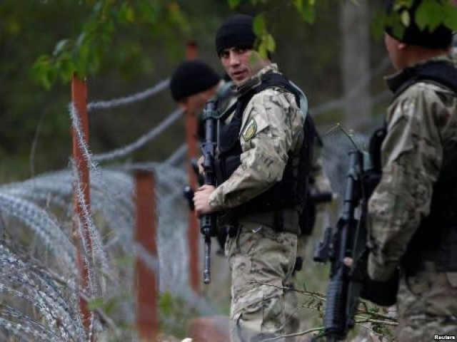 Georgia's state security service said that unspecified suspects opened fire on its counter-terrorist units