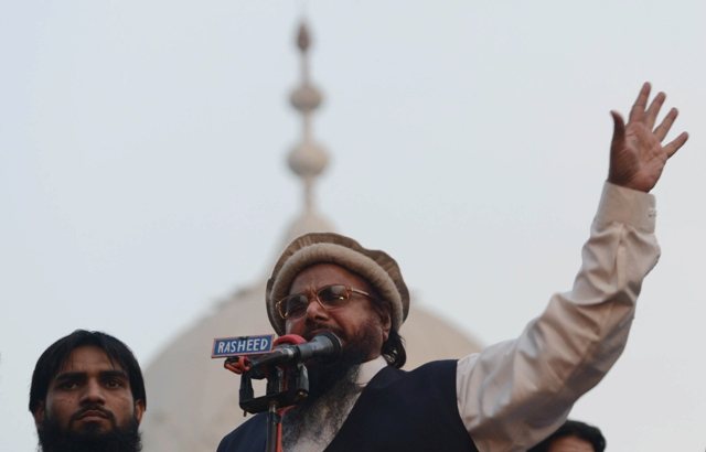Hafiz Saeed. PHOTO: AFP