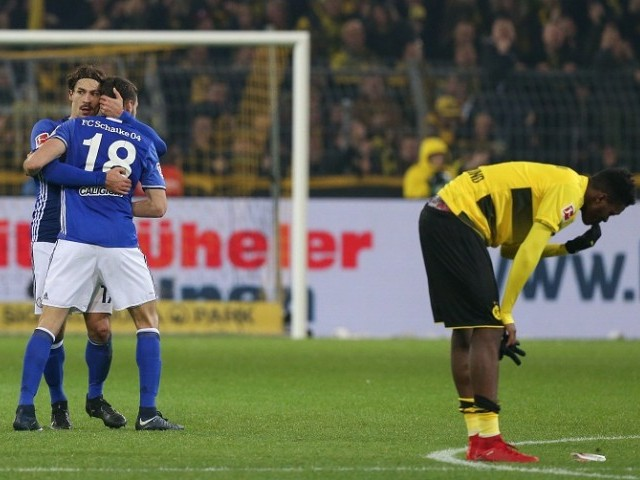 Schalke come back from 4-0 down to draw with Borussia Dortmund