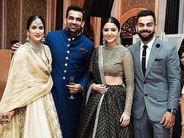 See photos from Sagarika Ghatge and Zaheer Khan's big wedding bash