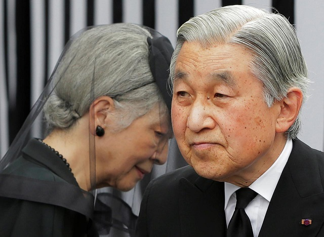 Japan's emperor reveals when he'll abdicate the Chrysanthemum Throne