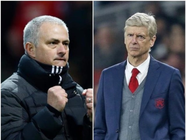 Jose Mourinho and Arsene Wenger. PHOTO: REUTERS