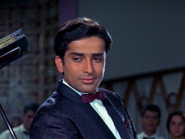 Shashi Kapoor. SCREEN GRAB