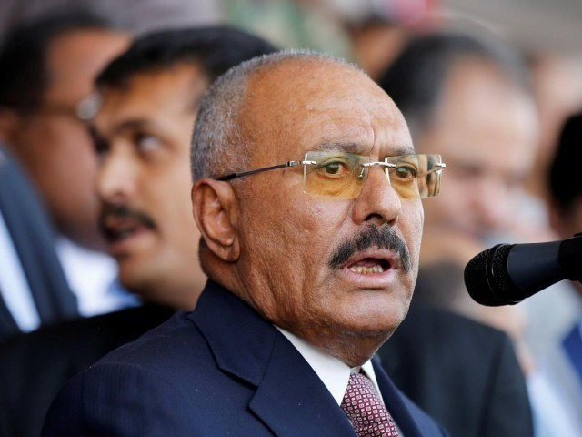 Yemen's former president Ali Abdullah Saleh,PHOTO:Reuters
