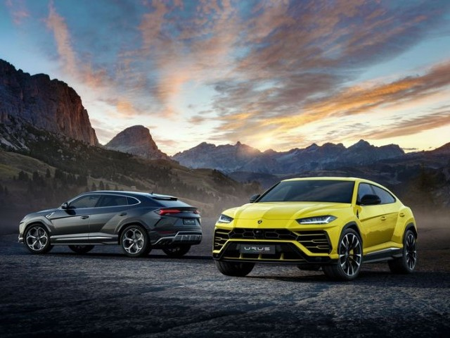 Lamborghini unveils SUV which hits 100kmh in 3.6secs