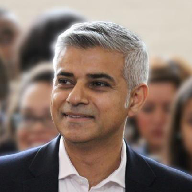 London Mayor Sadiq Khan arrives in Pakistan