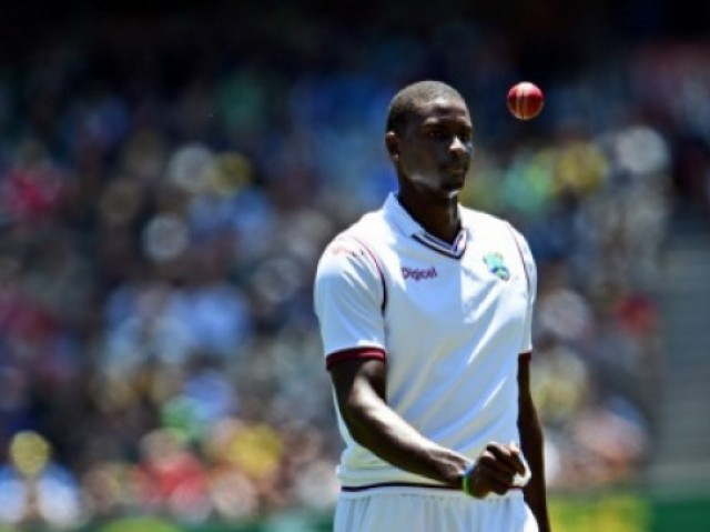 West Indies lost the first match by an innings and 67 runs and will now be without their skipper for the second game. PHOTO: AFP