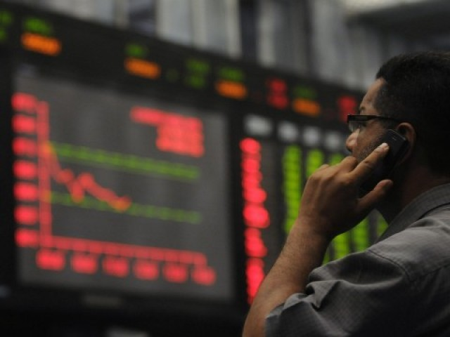 Benchmark index drops 2.81% to settle at 38,784.66. PHOTO: AFP/FILE