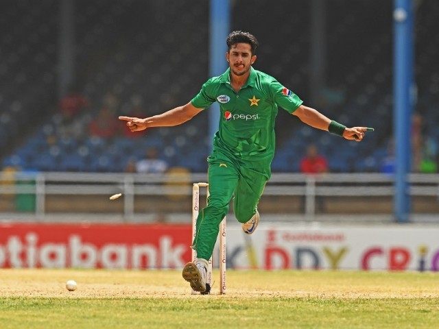 COUNTRY BEFORE SELF: Hasan Ali rates all his spells which helped Pakistan win matches as the best since his focus is to perform for the team and not for individual accolades. PHOTO: AFP