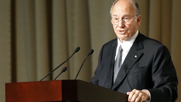 Prince Karim Aga Khan. PHOTO: REUTERS