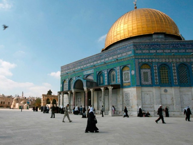 Al Aqsa mosque. PHOTO: REUTERS