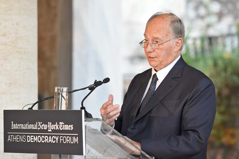 President lauds Aga Khan's services for peace, stability, humanity