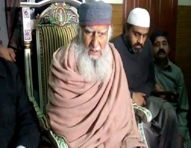 Pir Hameeduddin Sialvi of Astana-e-Aalia Sial Sharif. PHOTO: FILE