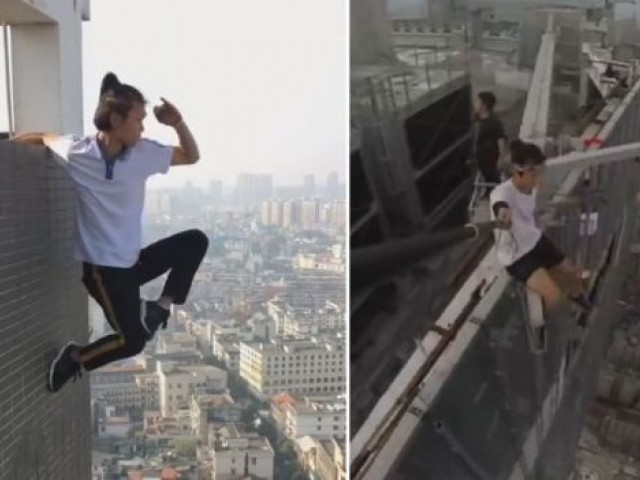 Chinese 'rooftopper' dies while attempting stunt on 62-storey building