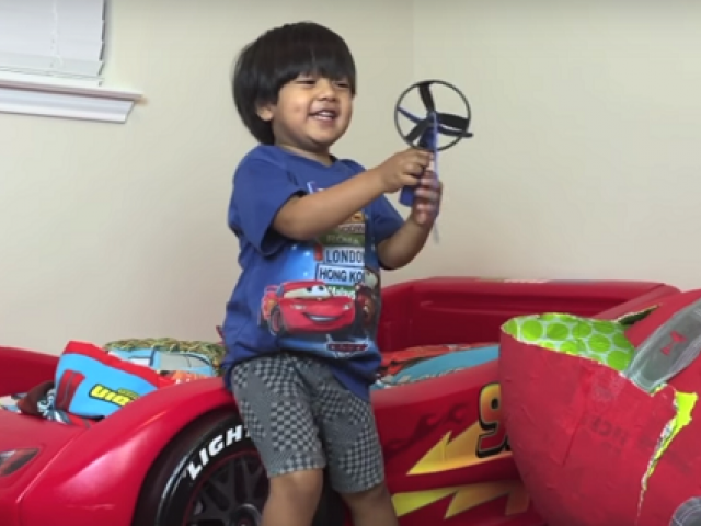 Year-old makes $14.6 million reviewing toys on YouTube