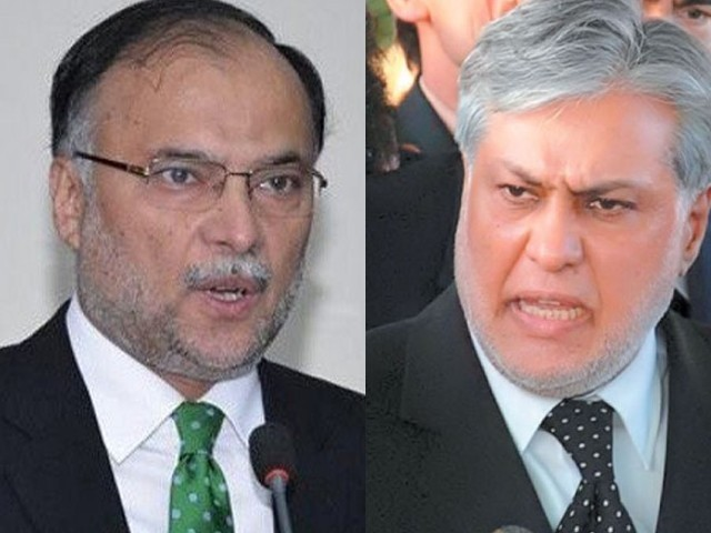 Ahsan Iqbal slams political alliances against PML-N govt
