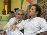 PTI chief had said he will quit politics in case of disqualification. PHOTO: EXPRESS