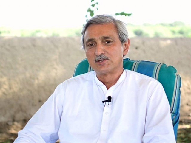 PTI's General Secretary Jahangir Tareen. PHOTO: FILE