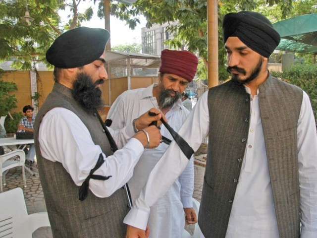 Sikhs in Hangu say the have friendly relations with Muslims who have always stood up for the community when in need. PHOTO: EXPRESS/FILE